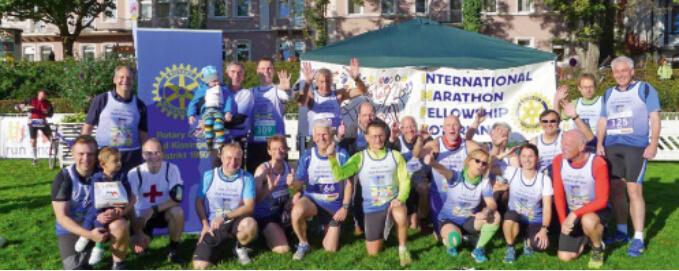 International Marathon Fellowship Rotarian